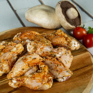 Marinated Chicken Mid Wings – Free range