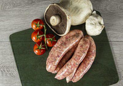 Lamb Pumpkin Feta Sausages