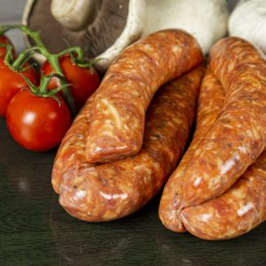 Worcestshire Cheese & Cracked Pepper Sausages