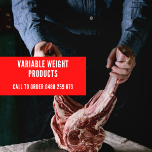 Variable Weight Products