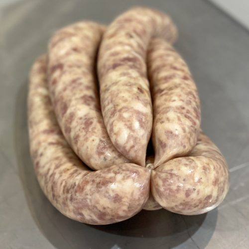 Pork Kaffir Lime Ginger & Chilli Sausages