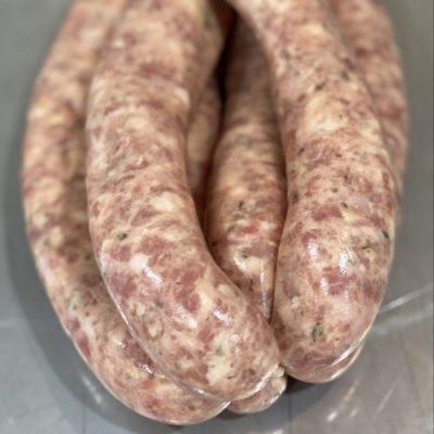Pork Parmesan Truffle Sausages