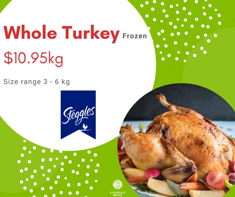 Christmas 2020 Whole Turkey Frozen