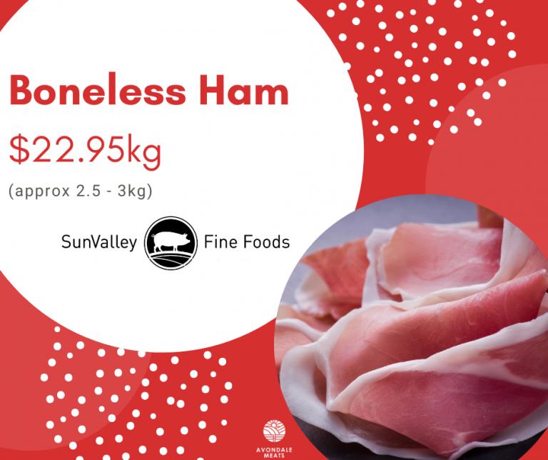 Christmas 2020 Boneless Ham