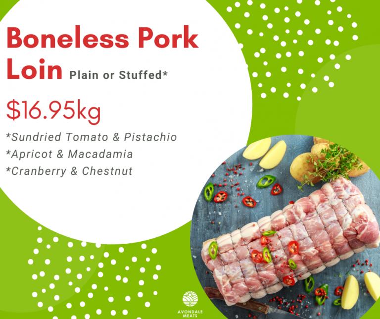 Christmas 2020 Boneless Pork Loin