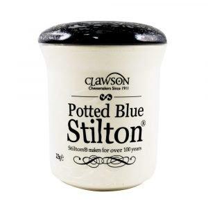 Long Clawson Potted Blue Stilton Crocks 225g