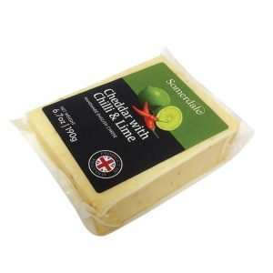 Somerdale Cheddar Chilli & Lime 190g