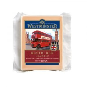 Westminster Rustic Red Cheddar 150g