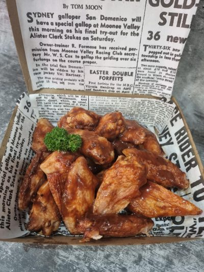 Smoky wings - ready to eat