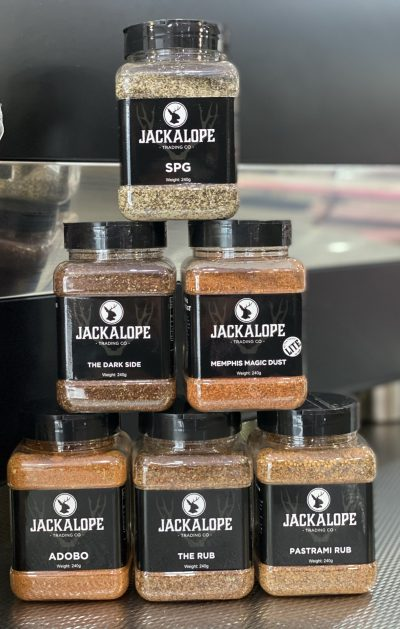 Jackalope Spice Rubs